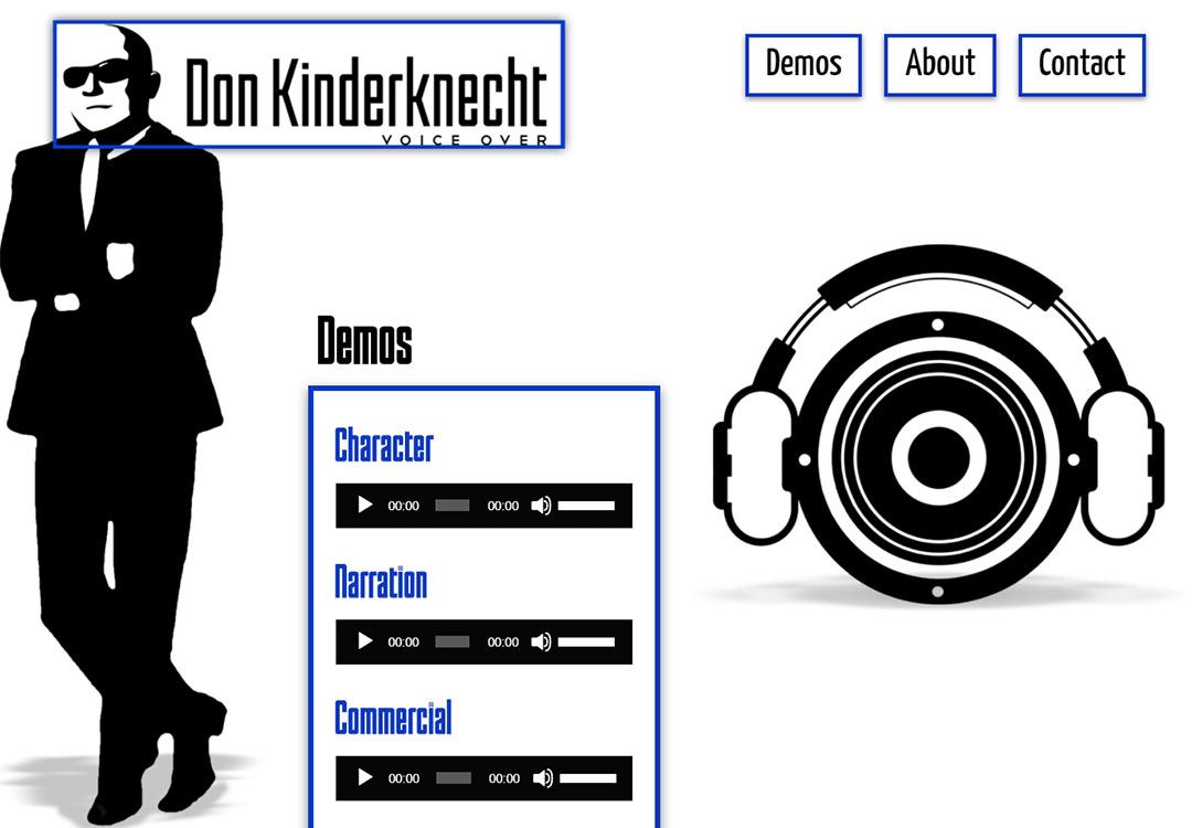 Don Kinderknecht • Voice Over