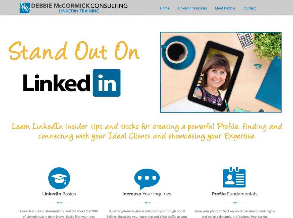Debbie McCormick LinkedIn – Village Green Studios
