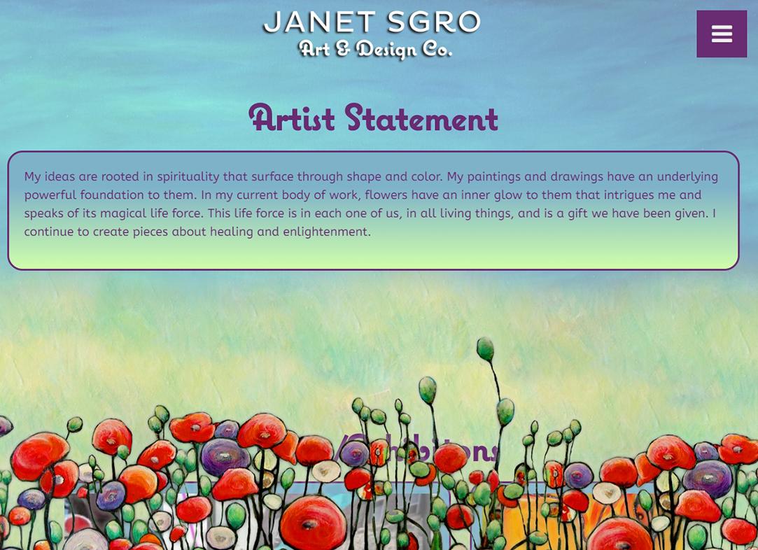 Janet Sgro • Art & Design Co.