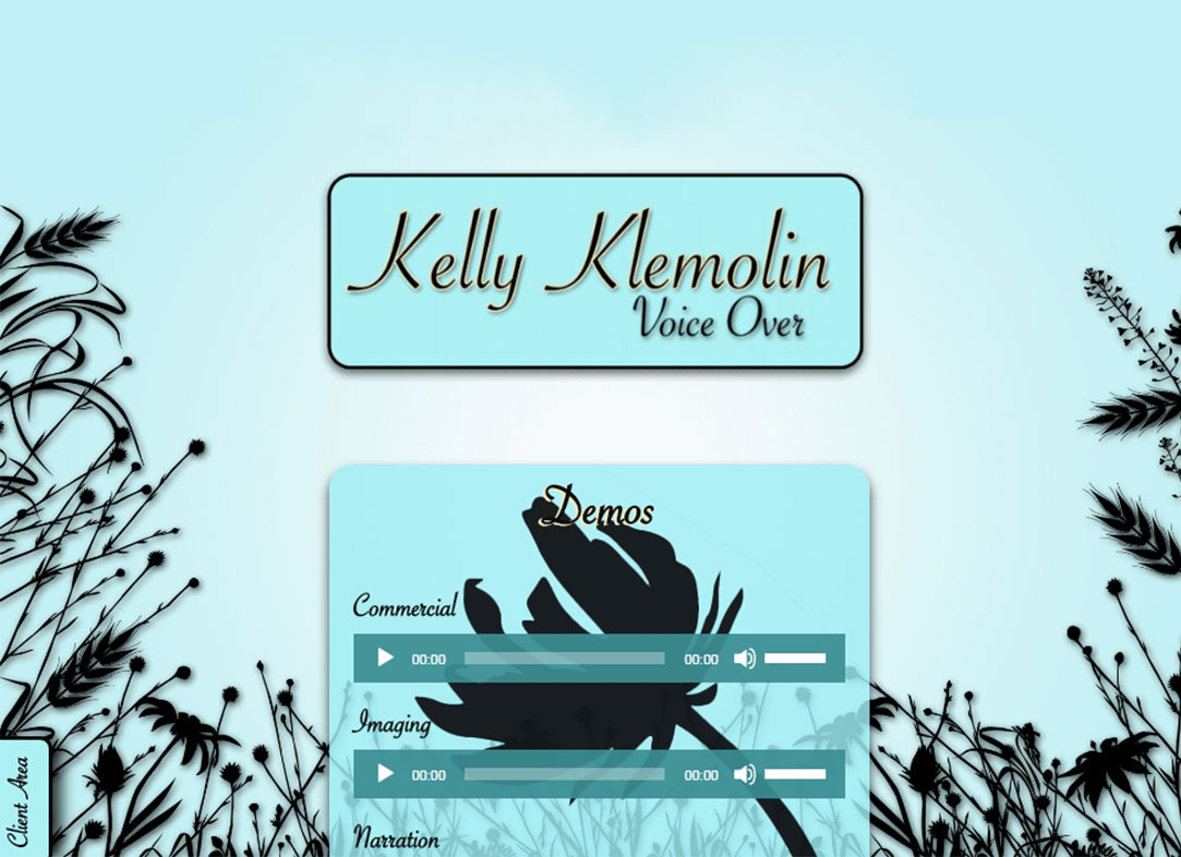 Kelly Klemolin • Voice Over