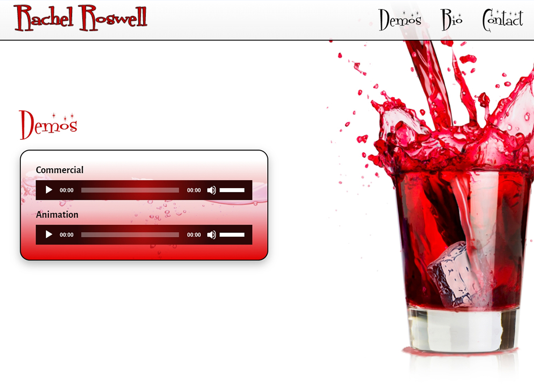 Rachel Roswell • Voice Over
