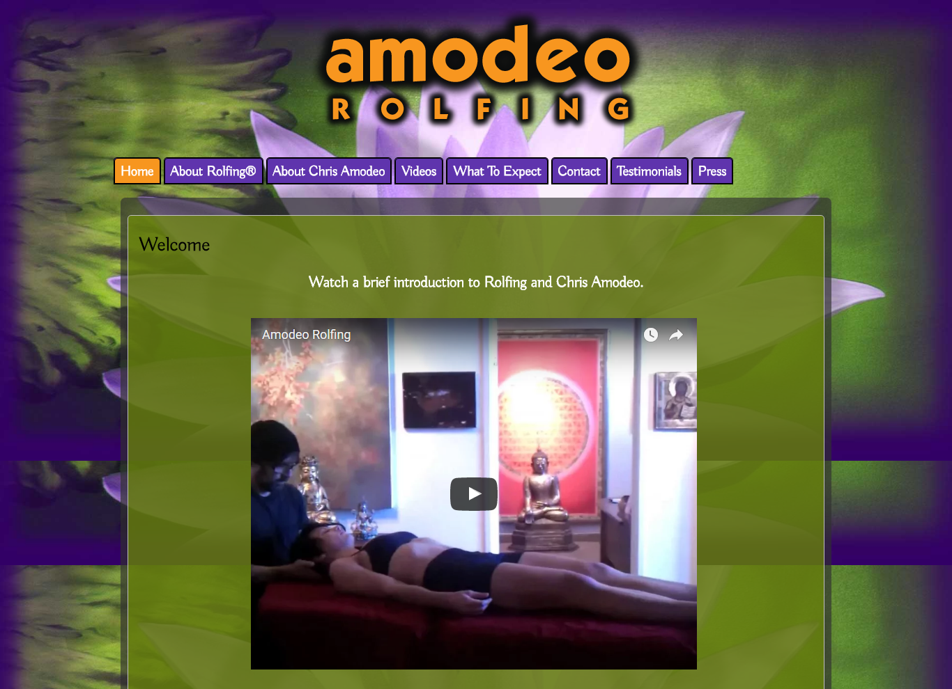 Amodeo Rolfing • Transformational Therapy
