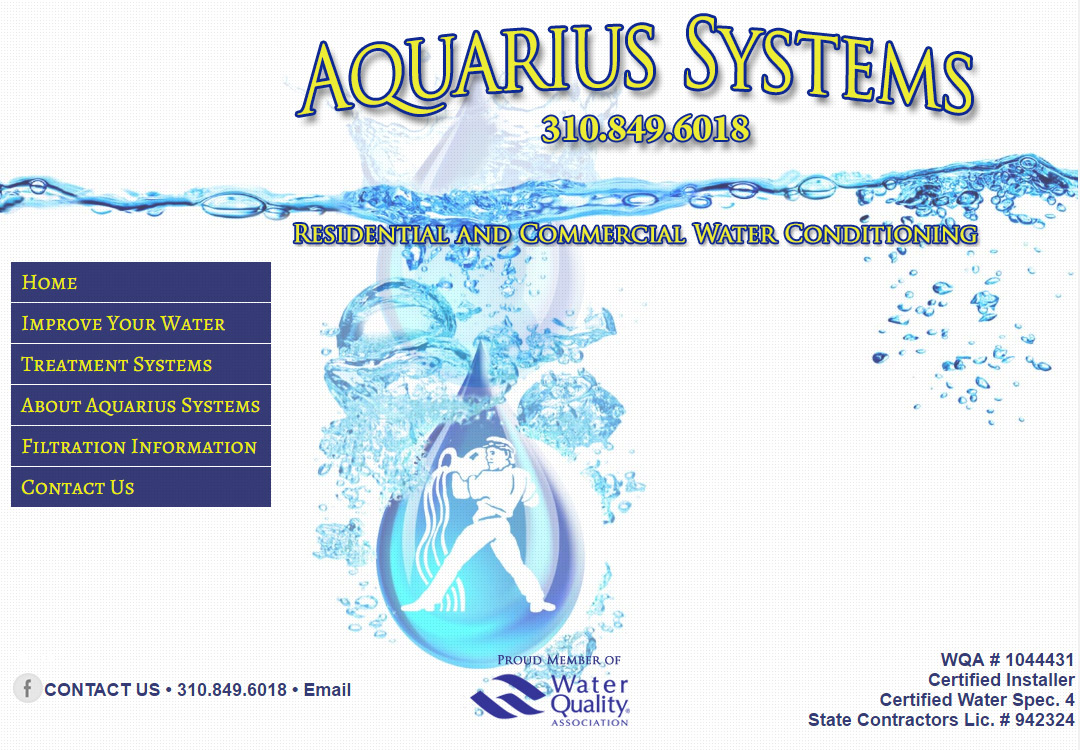 Aquarius Systems • Water Filtration