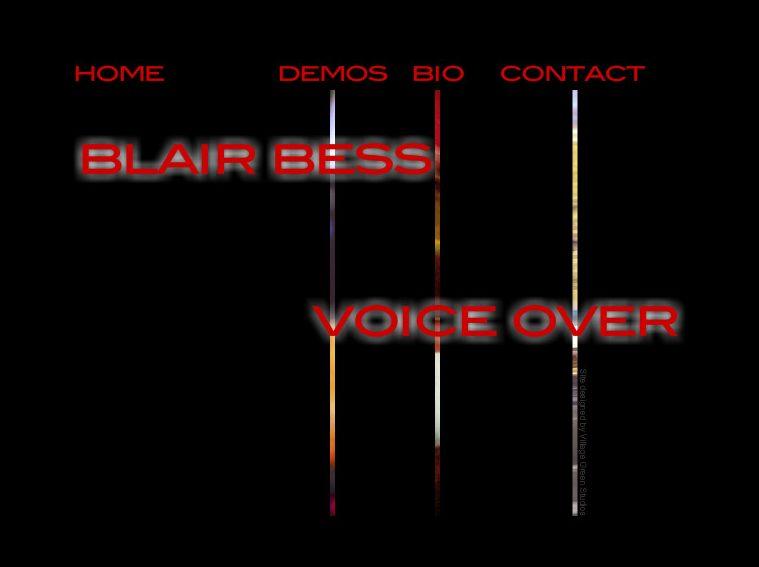 Blair Bess • Voice Over