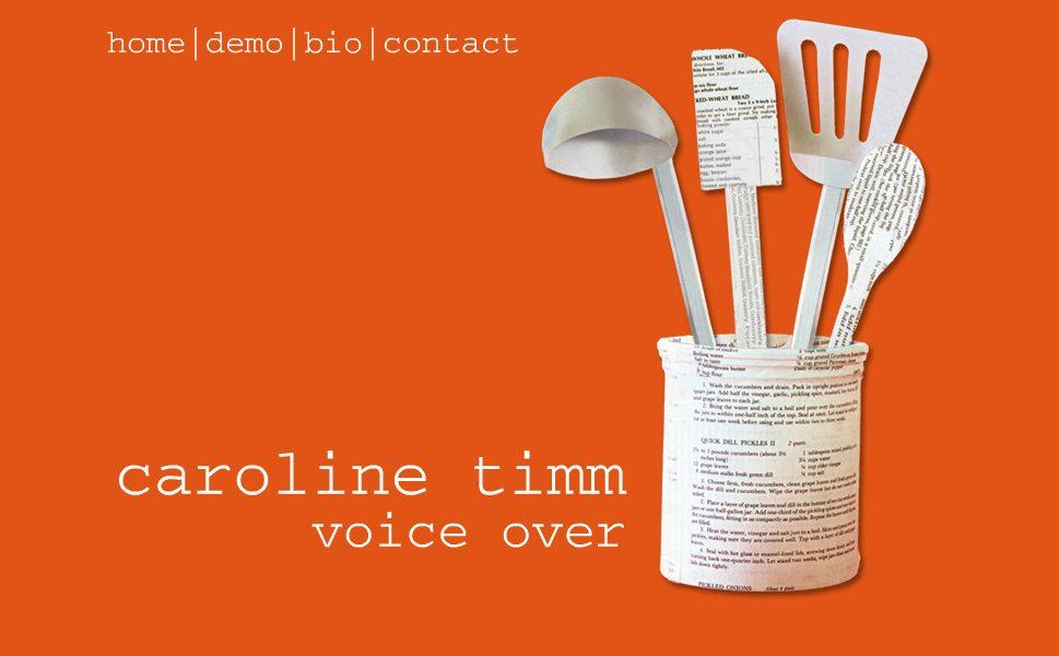 Caroline Timm • Voice Over