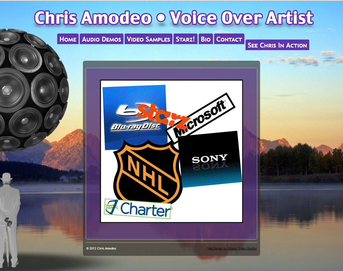 Chris Amodeo • Voice Over Artist