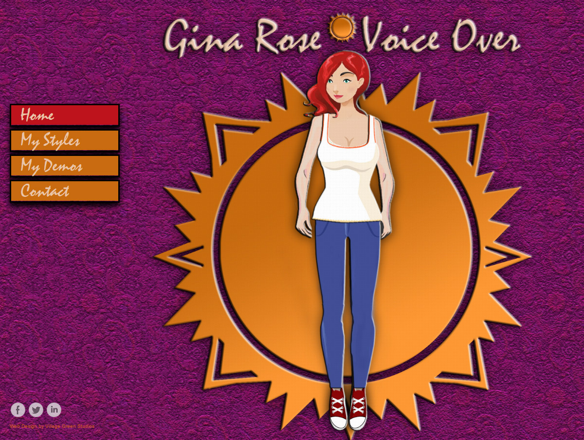 Gina Rose • Voice Over