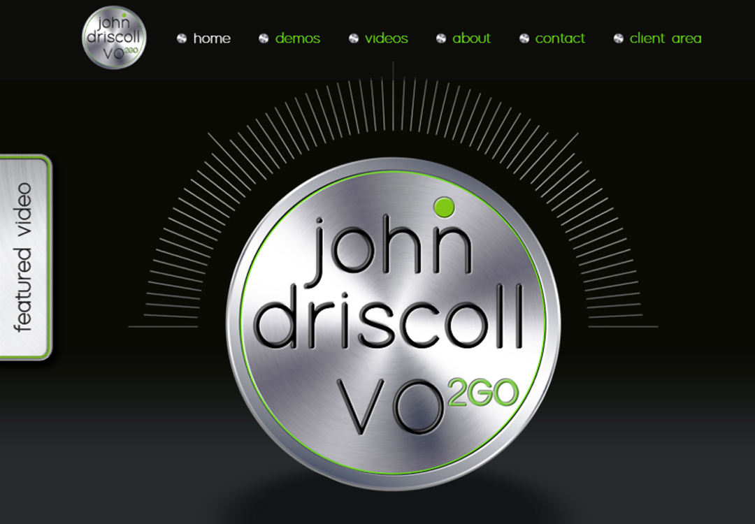 John Driscoll • Voice Over