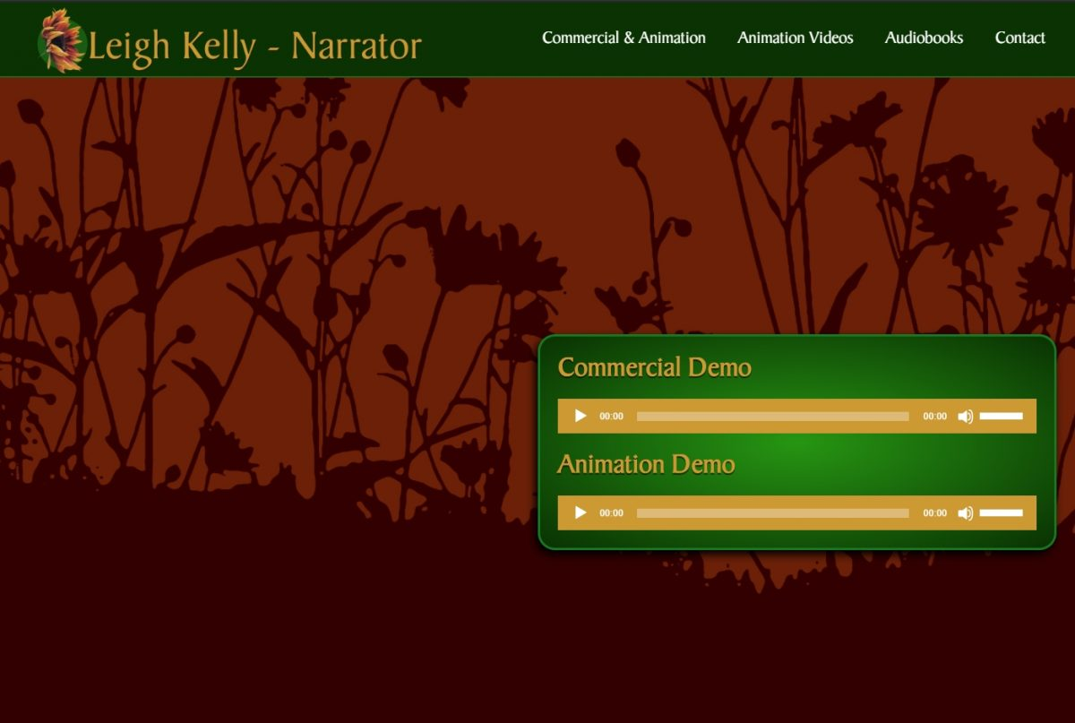 Leigh Kelly • Animation and Commecial Voice Over