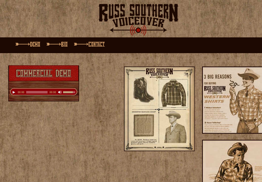 Russ Southern • Voice Over