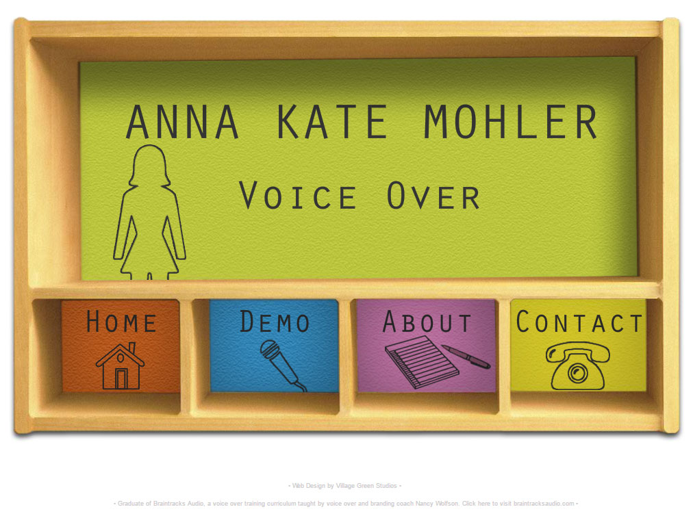 Anna Kate Mohler • Voice Over