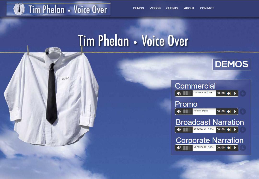Tim Phelan • Voice Over