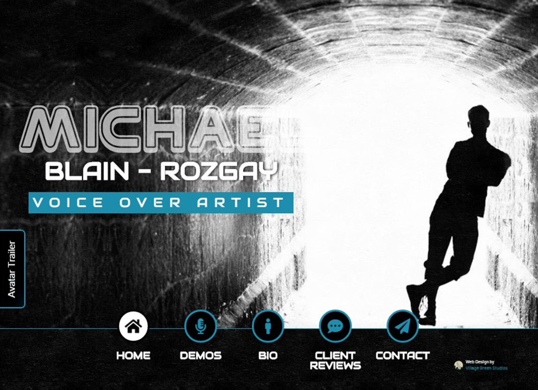 Michael Blain-Rozgay • Voice Over